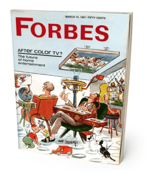 Rube Goldberg in Forbes Magazine