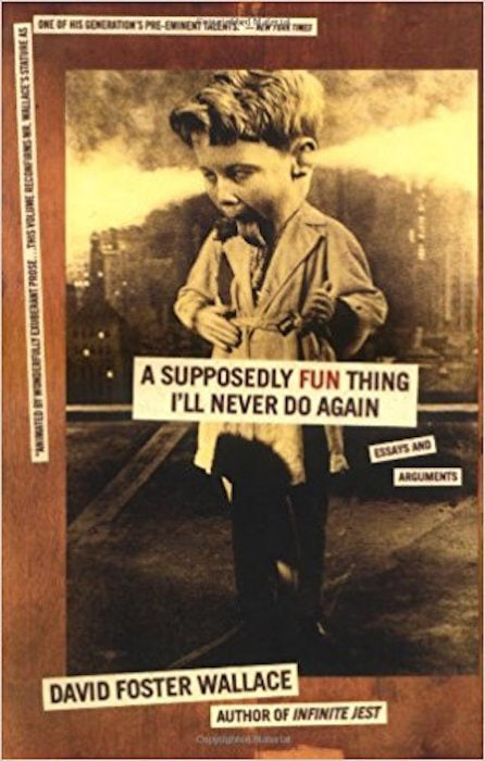 A Supposedly Fun Thing I'll Never Do Again: Essays and Arguments By David Foster Wallace