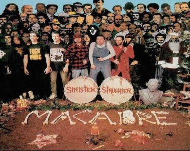 Macabre, Sinister Slaughter album cover.