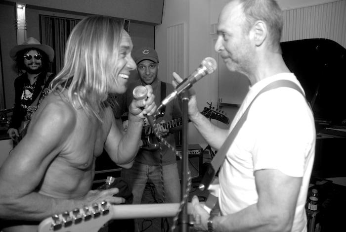 Iggy Pop & Wayne Kramer - Photo by Tracy Ketcher