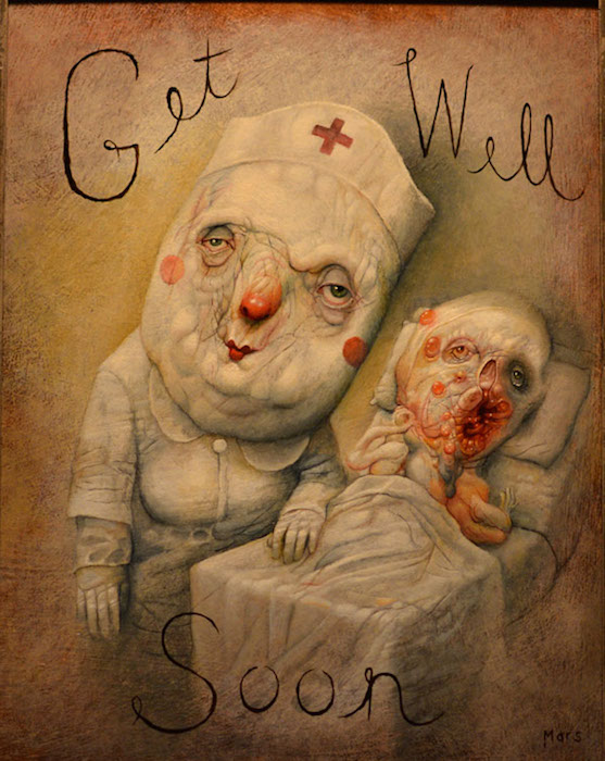 Get well Soon, by Chris Mars.