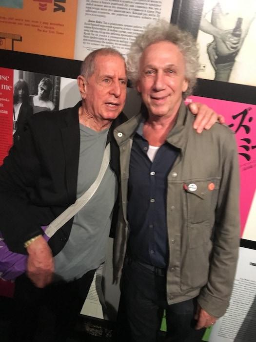 Danny Fields and Bob Gruen, photo by Eric Davidson