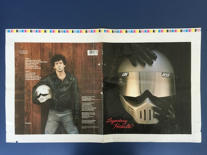 From the Lou Reed Archive/The New York Public Library for the Performing Arts