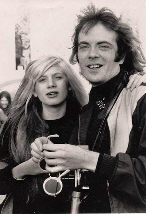Andrea Feldman and Leee Black Childers 1971