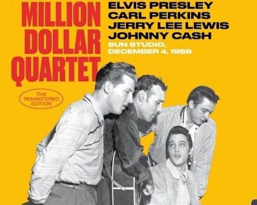 Million Dollar Quartet album cover 1956