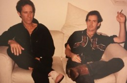 John Densmore and Derf, photo courtesy of Nora Novak