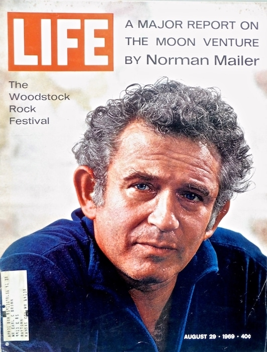 Norman Mailer on the cover of Time 1969