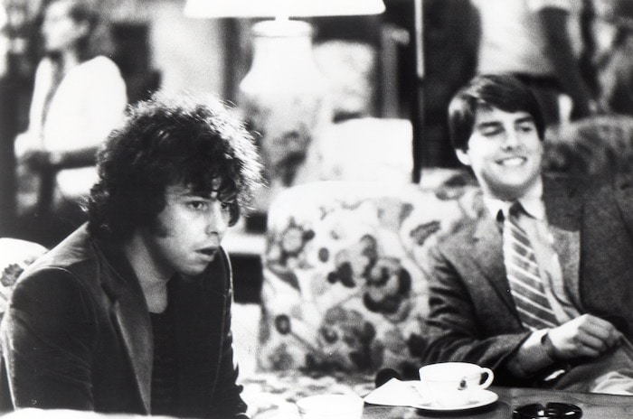 Curtis Armstrong and Tom Cruise in Risky Business