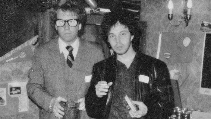 Curtis Armstrong and Timothy Busfield. Booger and Poindexter in Revenge Of The Nerds.