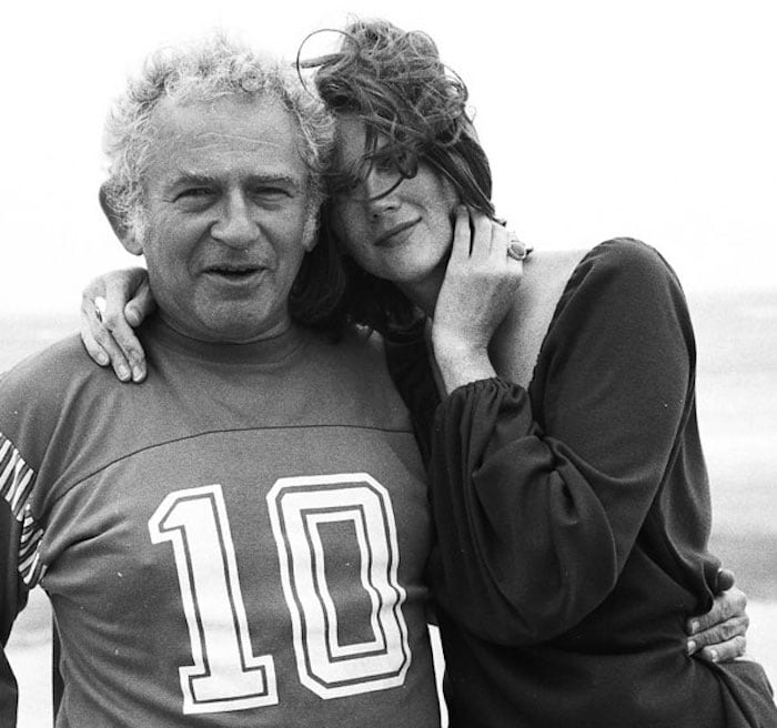Norman Mailer and his wife, Norris Church Mailer