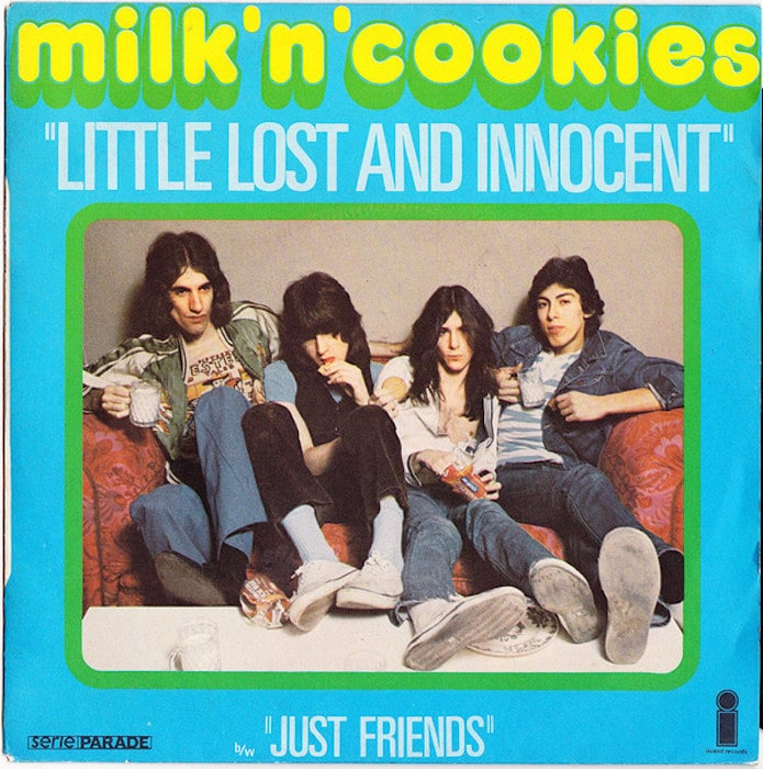 Milk 'N' Cookies 'Little Lost and Innocent' single, 1975.