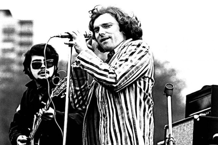 Van Morrison in Boston Common, 1968