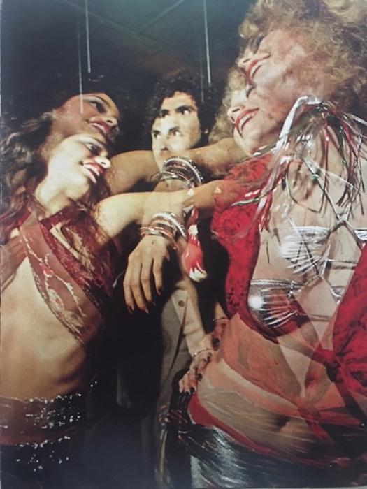 Lori Lightning Mattix and Shray Meecham by Richard Creamer. June 1973
