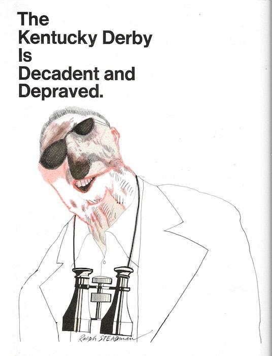 Illustration by Ralph Steadman