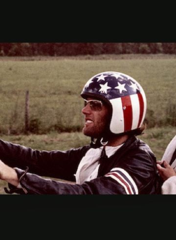 Peter Fonda and Jack Nicholson in Easy Rider