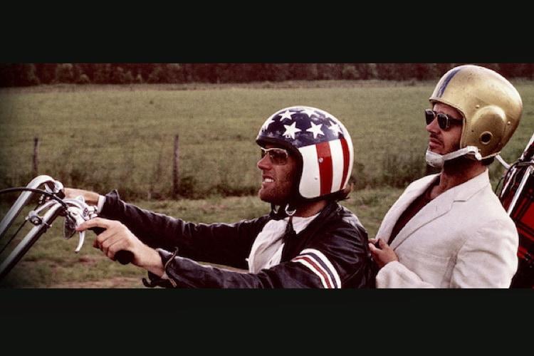 Peter Fonda and Jack Nicholson in Easy Rider