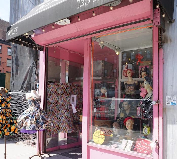Enzs store front
