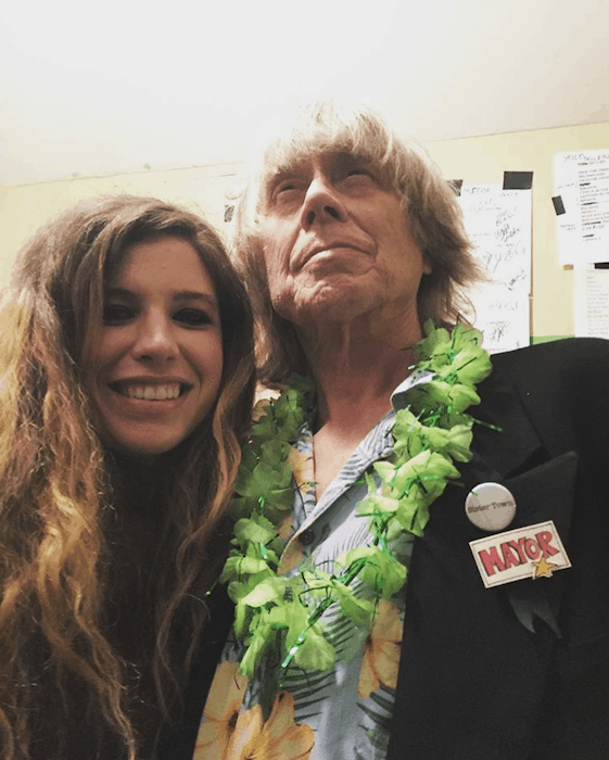 Katie at the Sister Town Mayor Induction Ceremony of Terry Adams (NRBQ)