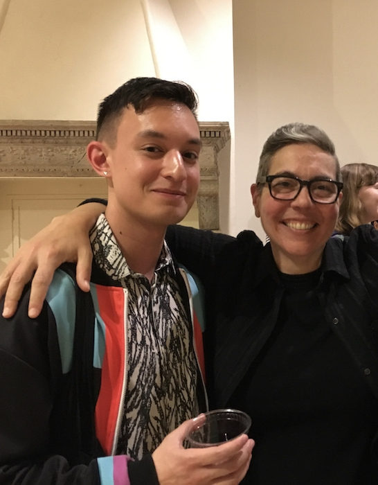 Stacy Szymaszek and Kyle Dacuyan