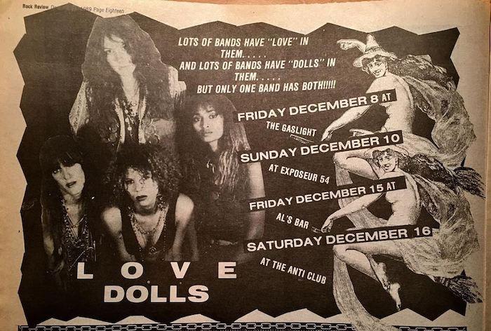 Love Dolls flyer