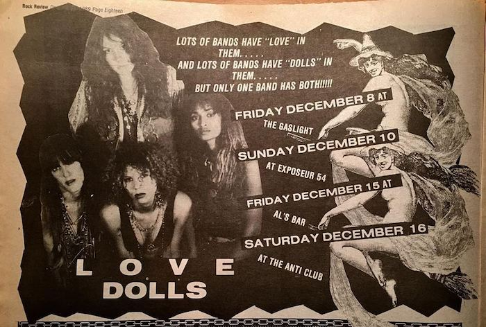 Love Dolls flyer