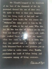 From Gandhi museum in Madurai