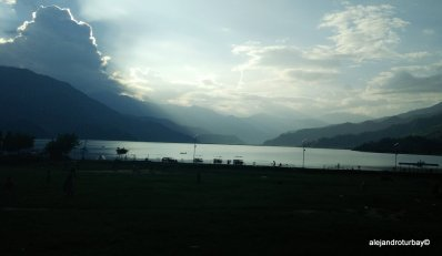 View of Pokhara Lake