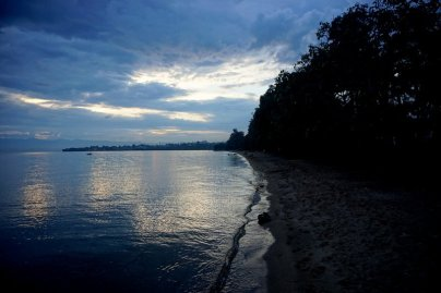 Lake Kivu sand beaches of Gisenyi
