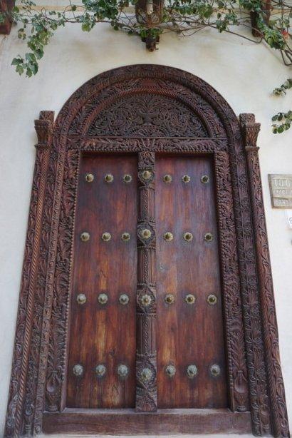 Famous doors of Zanzibar