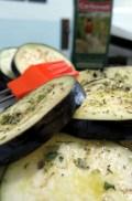 Eggplant Parma oil oregano