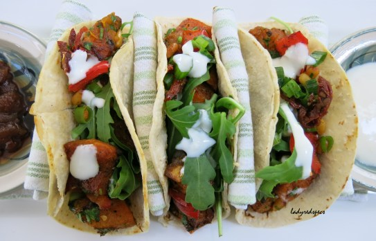 Tacos served