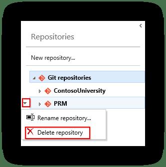 vsts-delete-repository