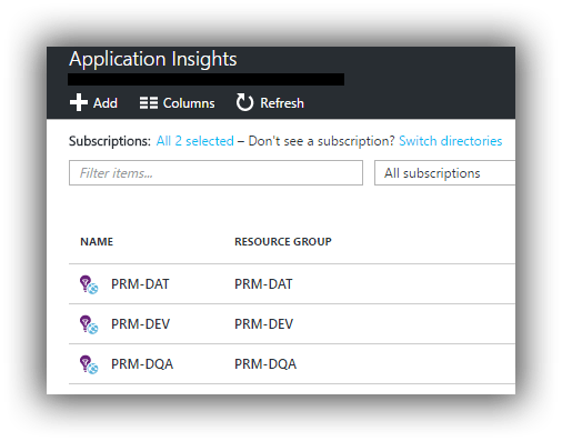 azure-portal-application-insights-resources