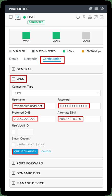 Madison : Use dnsmasq as dhcp server unifi usg