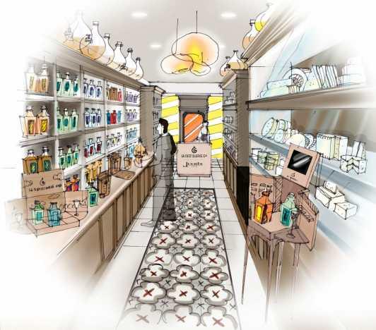Pop-up store La Distillerie Générale