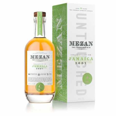Mezan - Jamaica 2007 bouteille et étui 2019