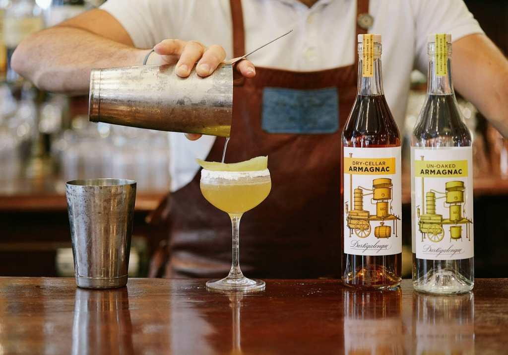 Dartigalongue cocktail un-oaked dry cellar