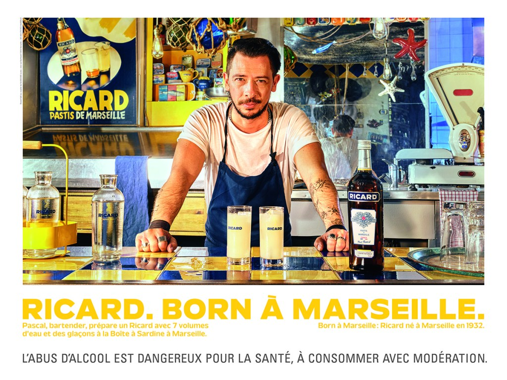 Ricard born a marseille