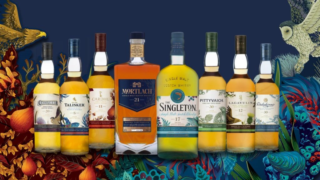 Special Releases 2020 Diageo
