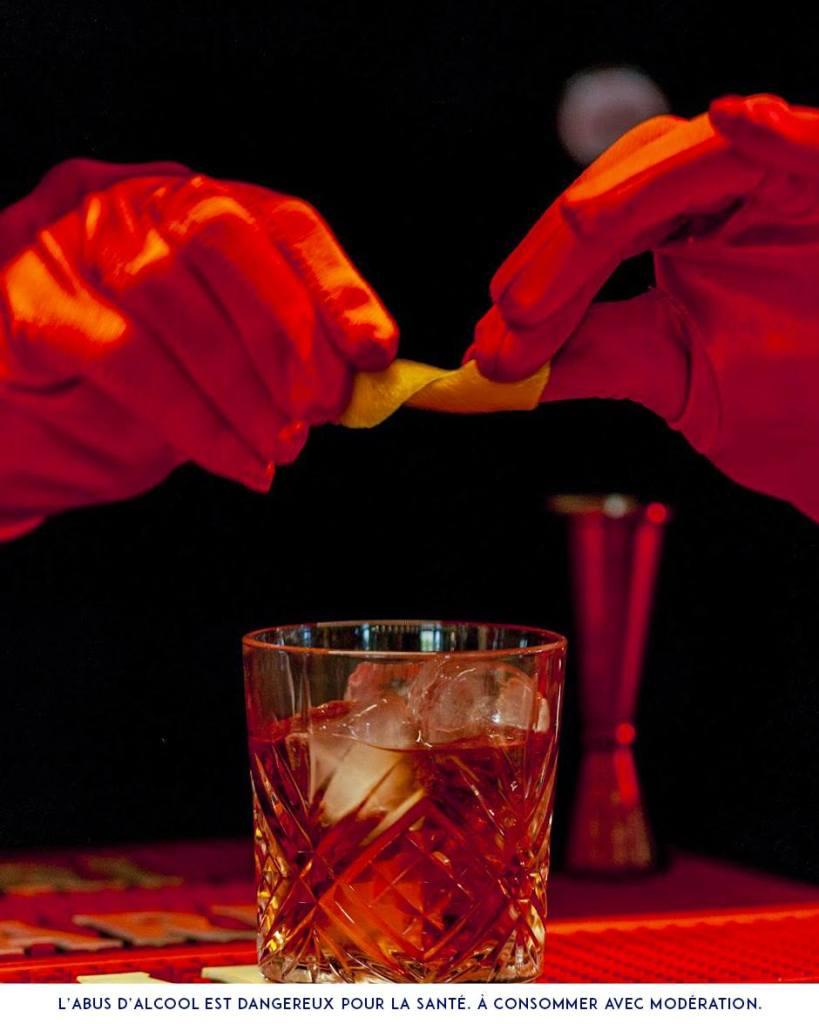 cocktail negroni campari