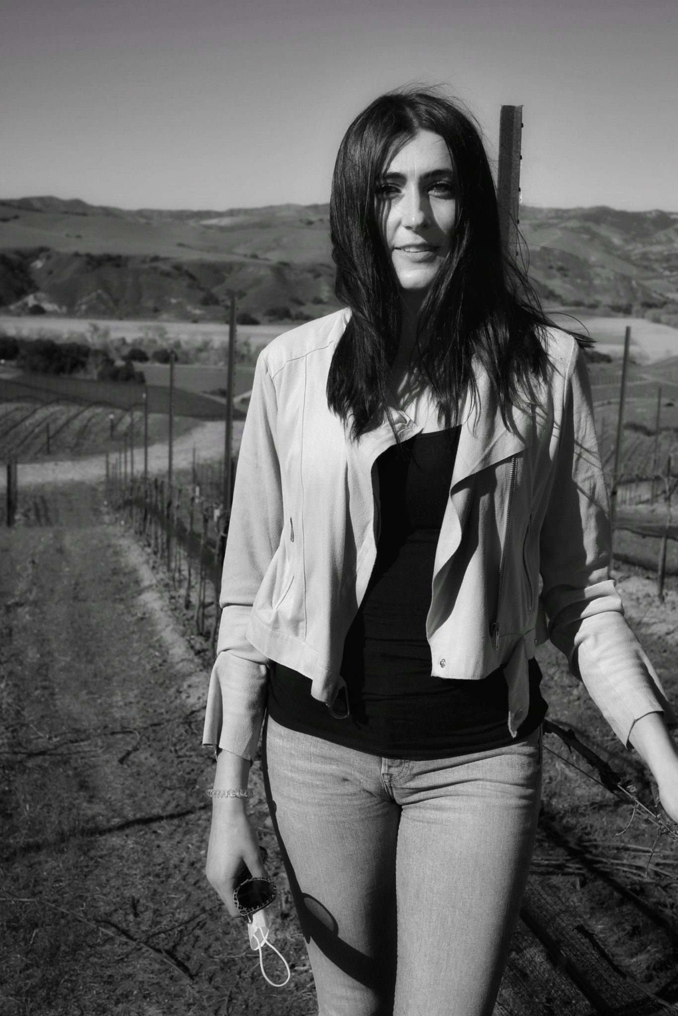 From Grape to Glass, Samra Morris is at the helm of Alma Rosa Winery