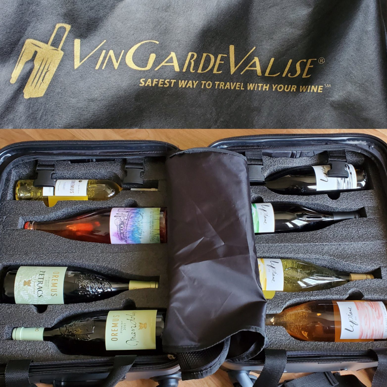 Please The Palate Pick of the Week: Traveling with Wine with the VinGardeValise Petite from FlyWithWine