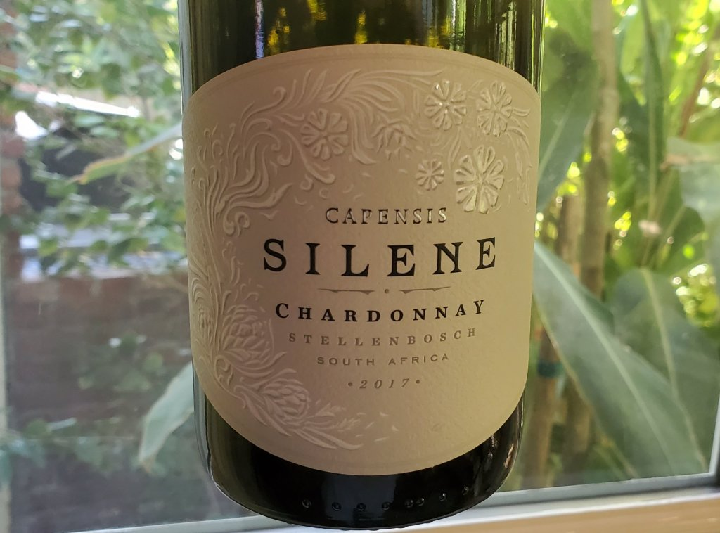 Please The Palate Wine of the Week: Capensis Silene 2017 Chardonnay, Stellenbosch, South Africa