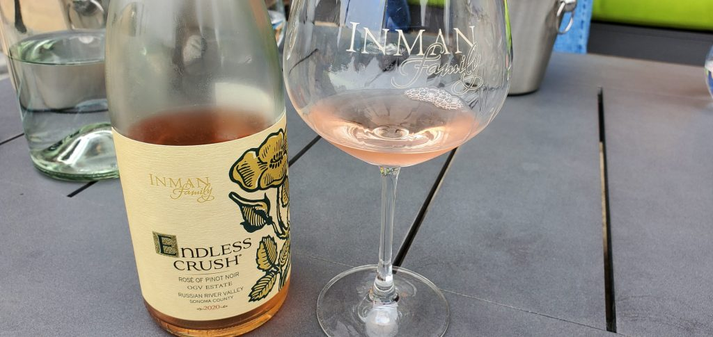 Please The Palate Wine of the Week: Inman Family 2020 Endless Crush® Rosé, OGV Estate, Russian River Valley