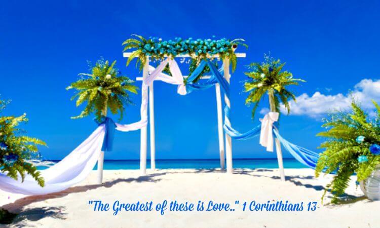 Beach Wedding-Love is greatest