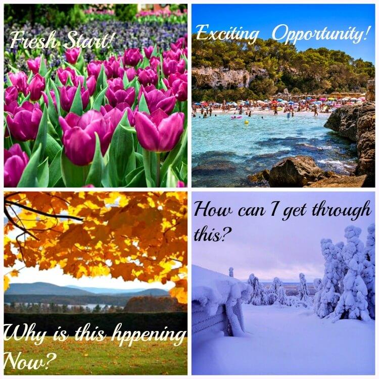Adjusting to Seasons of Change