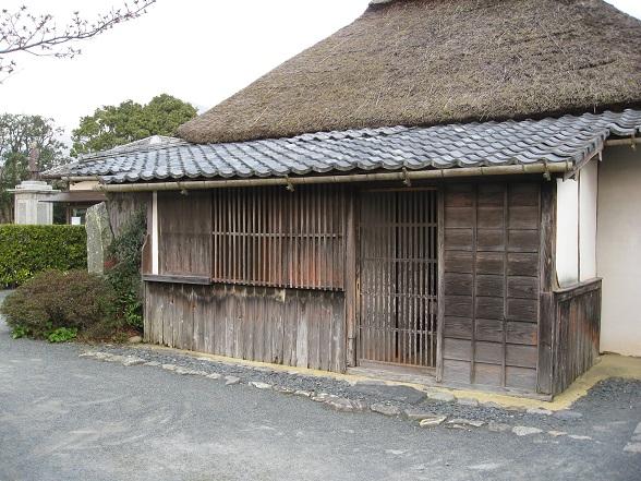 伊藤博文旧宅玄関