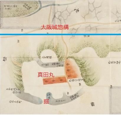 真田丸の古図と概要