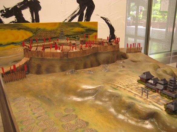 真田丸の復元模型