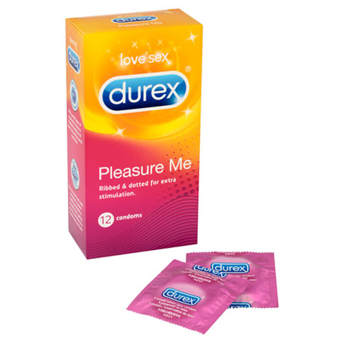 Durex Pleasure Me textured condoms